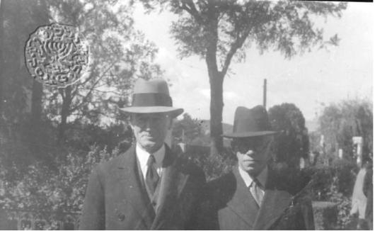 ז׳בוטינסקי ופאטרסון בתל-אביב